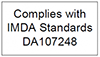 Complies with IMDA Standards DA107248